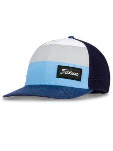 Titleist junior golfcap surf stripe navy