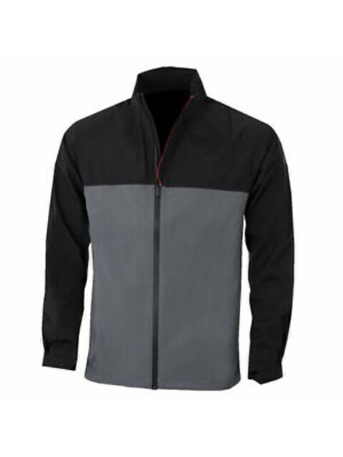 Under Armour heren golf regenjack Elements zwart-grijs