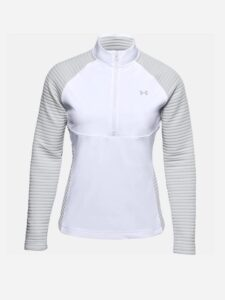 Under Armour dames golfsweater Storm Evolution wit