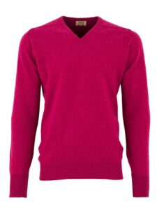 William Lockie heren golfpullover lamswol V-hals vegas
