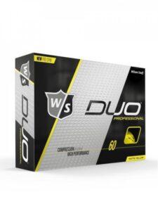 Wilson Staff golfballen Duo Professional geel