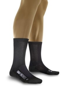 X-socks heren golfsokken Air Step Mid Calf zwart