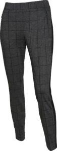 Brax Golf dames golfpantalon Carla grijs-zwart