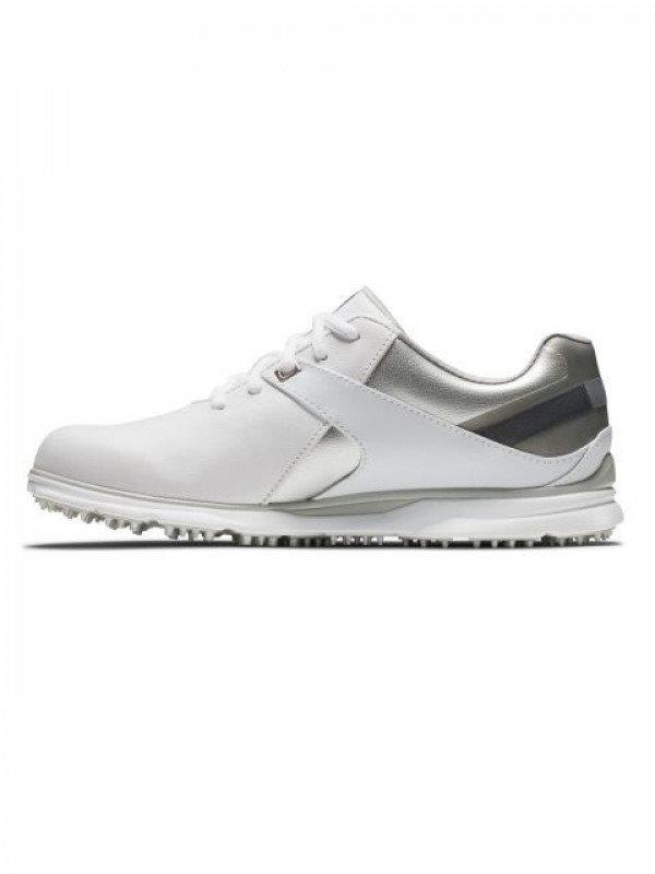 FootJoy dames golfschoenen Pro/SL WIDE wit-zilver