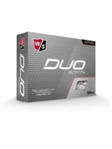Wilson Staff golfballen Duo Soft+ wit (DX2)