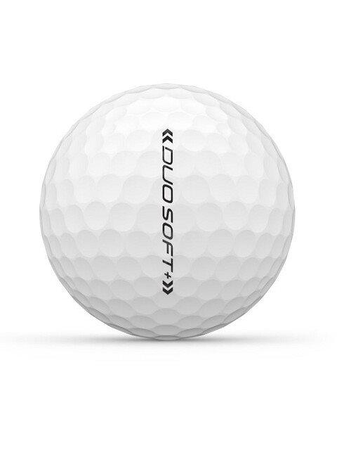 Wilson Staff golfballen Duo Soft+ wit (DX2)