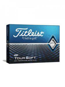 Titleist golfballen Tour Soft 2020 wit