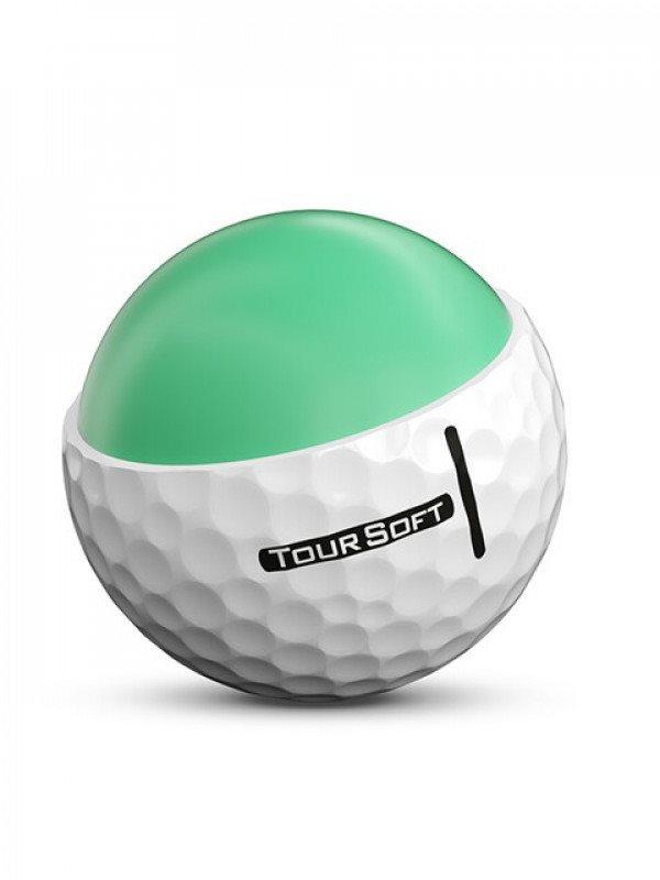 Titleist golfballen Tour Soft wit