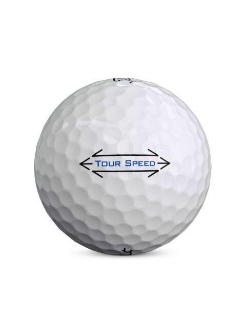 Titleist golfballen Tour Speed wit