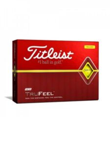 Titleist golfballen TruFeel geel