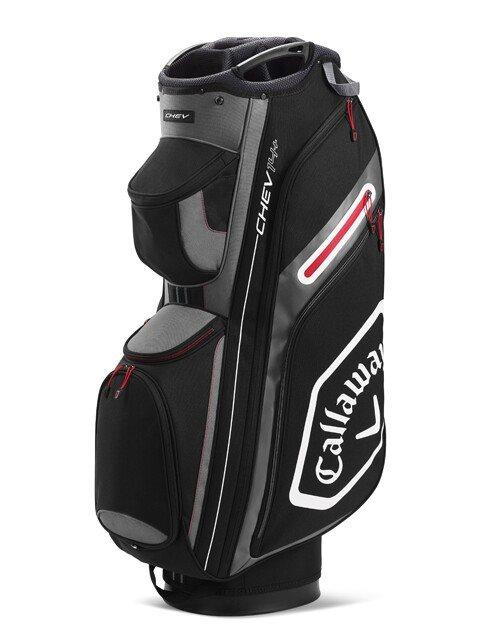 Callaway golftas Chev 14+ Cart Bag zwart-grijs