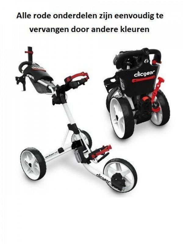 Clicgear golftrolley 4.0 legergroen
