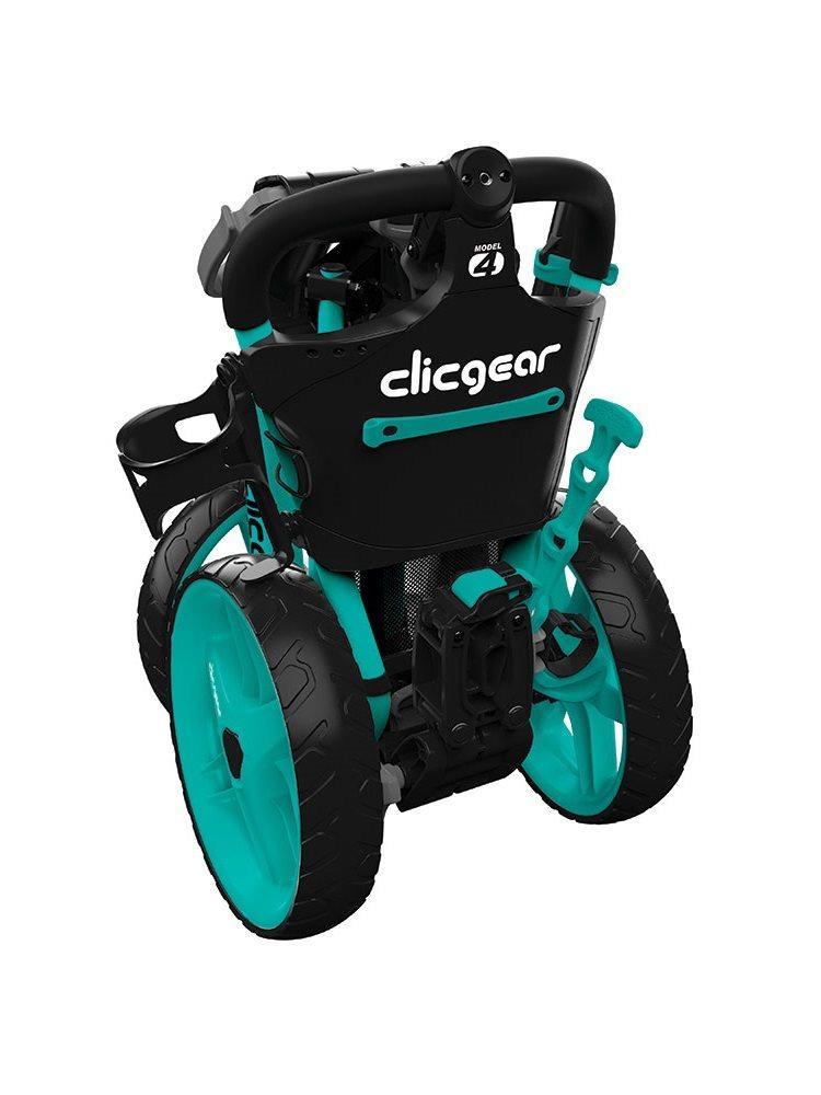 Clicgear golftrolley 4.0 teal, groenblauw