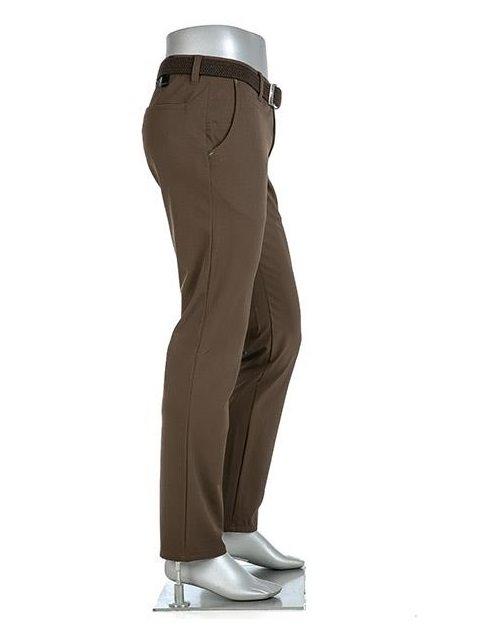 Alberto heren golfpantalon Rookie 3xDry Cooler bruin