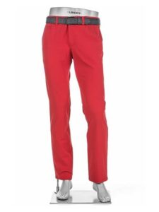 Alberto heren golfpantalon Rookie 3xDry Cooler rood