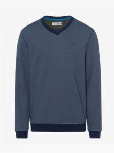 Brax heren golfsweater Nick navy
