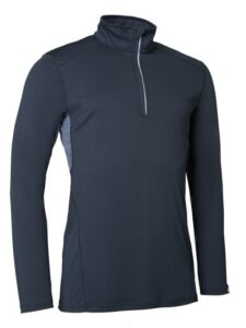 Abacus heren golfpully Ale donkerblauw
