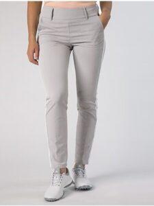 Alberto dames golfpantalon Lucy 7/8 3xDry lichtgrijs-wit