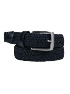 Alberto dames golfriem Basic Braided TC donkerblauw