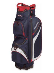 BagBoy golftas DG-Lite II Cart Bag navy-rood-zilver