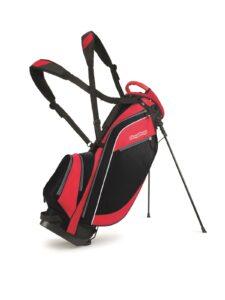 BagBoy golftas Super Lite Stand Bag zwart-rood
