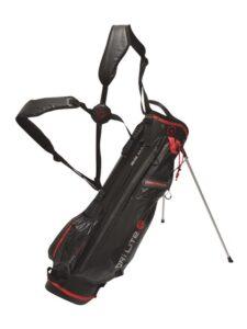 Big Max golftas Dri Lite 7 Stand Bag zwart-rood