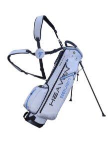 Big Max golftas Heaven 7.0 Stand Bag zilver-donkerblauw