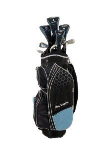 Ben Sayers dames golfset M8 Cart Bag graphite shaft +1 inch
