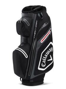 Callaway golftas Chev Dry 14 Cart Bag zwart-grijs