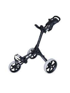 Fastfold golftrolley Kliq zwart-wit