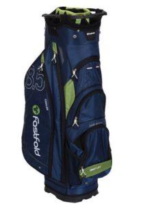 Fastfold golftas Cart Bag 8.5 donkerblauw-groen