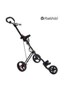 Fastfold golftrolley Force 3-wiel zwart