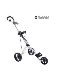 Fastfold golftrolley Force 3-wiel zilver