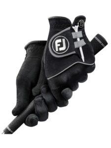 FootJoy heren golfhandschoenen Raingrip zwart (paar)