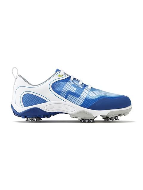 FootJoy junior golfschoenen Freestyle wit-blauw