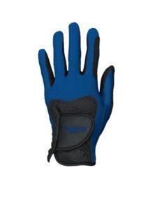 Fit39ex unisex golfhandschoen zwart-blauw