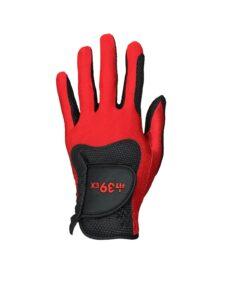 Fit39ex unisex golfhandschoen rood-zwart