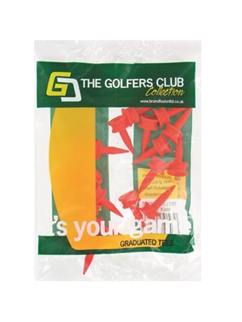 Golfers Club Step Height tee oranje 6mm