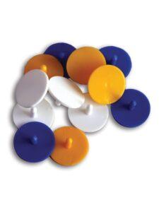 Golfers Club plastic ball markers