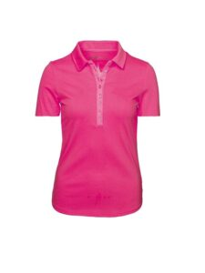 Girls Golf dames golfpolo Sophy korte mouw roze