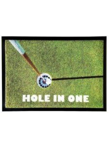 Sportiques schoonloopmat - Hole in One