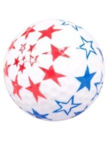 Legend golfballen US Stars 3 stuks in koker
