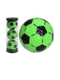 Legend golfballen Green Soccer 3 stuks