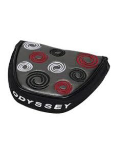 Odyssey headcover putter Swirl Mallet zilver