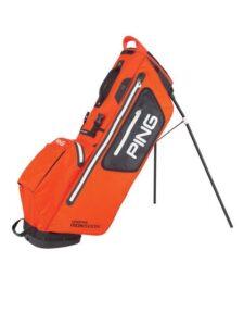 Ping golftas Hoofer Monsoon 2020 Stand Bag oranje-zwart