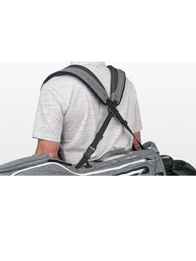 Ping golftas Hoofer Stand Bag grijs-wit