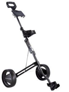 Silverline golftrolley Mini 2 Wielen zwart