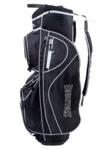 Spalding golftas CP 8.5 Cart Bag zwart-wit