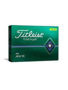 Titleist golfballen AVX 2020 geel