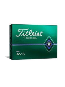 Titleist golfballen AVX 2020 wit